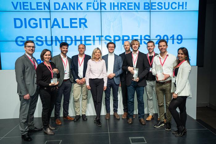 Gewinner Digitaler Gesundheitspreis 2019