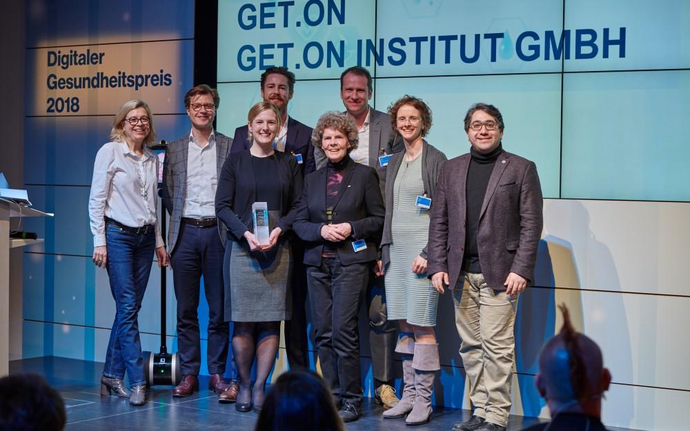 1. Platz: GET.ON Institut GmbH, Hamburg (25.000 €)