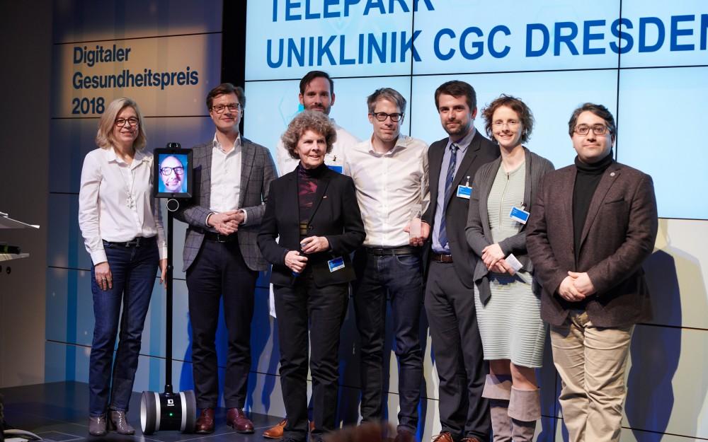 2. Platz: TelePark, Technische Universität, Dresden (15.000 €)